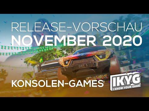 Games-Release-Vorschau - November 2020 - Konsole