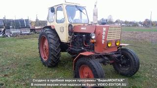 огляд трактора ЮМЗ 6 ал a review of the tractor UMZ 6