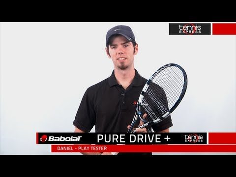 Tennis Express Babolat Pure Drive Plus Racquet Review Youtube