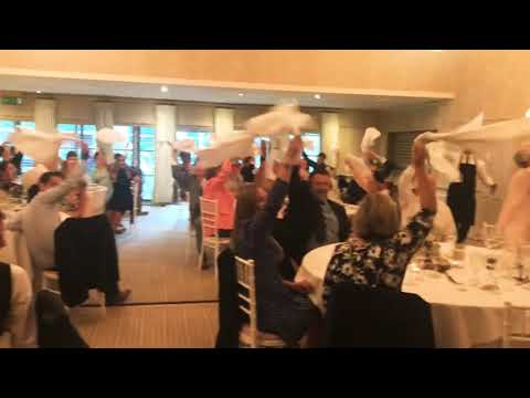 Surprise singing waiters - The Sing Along Waiters