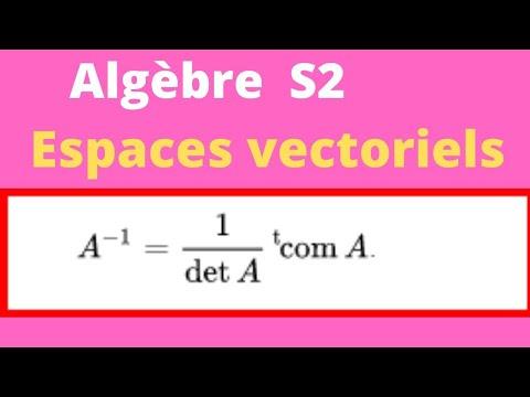 calcul-de-l'inverse-d'une-matrice-3x3-espace-vectoreil-exercices-corrigés-sous-espaces-vectoriels