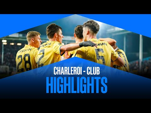 Charleroi Club Brugge Goals And Highlights
