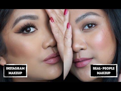 INSTAGRAM MAKEUP vs REAL PEOPLE Makeup | MakeupInSFC