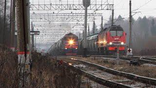 Грузовые поезда - 15.