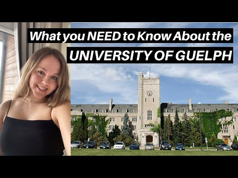 10 Things To Know Before Going To UNIVERSITY OF GUELPH | First Year Tips From A Lang Student