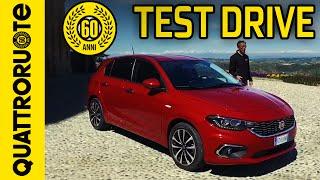 Fiat tipo hatchback lounge 1.6 120cv 2016 test drive