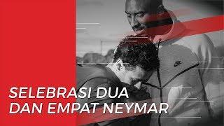 Selebrasi Dua dan Empat Neymar untuk Kobe Bryant
