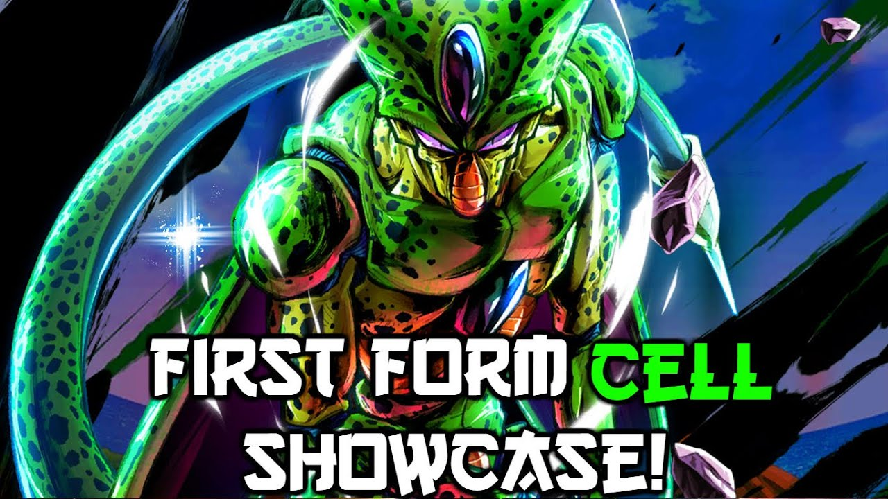 Insane Blast Damage First Form Cell Showcase Dragon Ball Legends Youtube