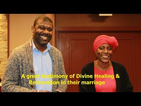 Watch this great testimony of divine healing and restoration in