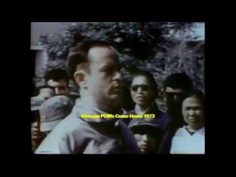 Vietnam POWs Return 1973