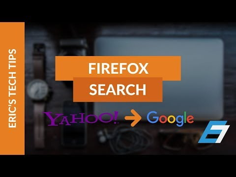 How to Change Firefox Yahoo Search Back to Google Search 2014