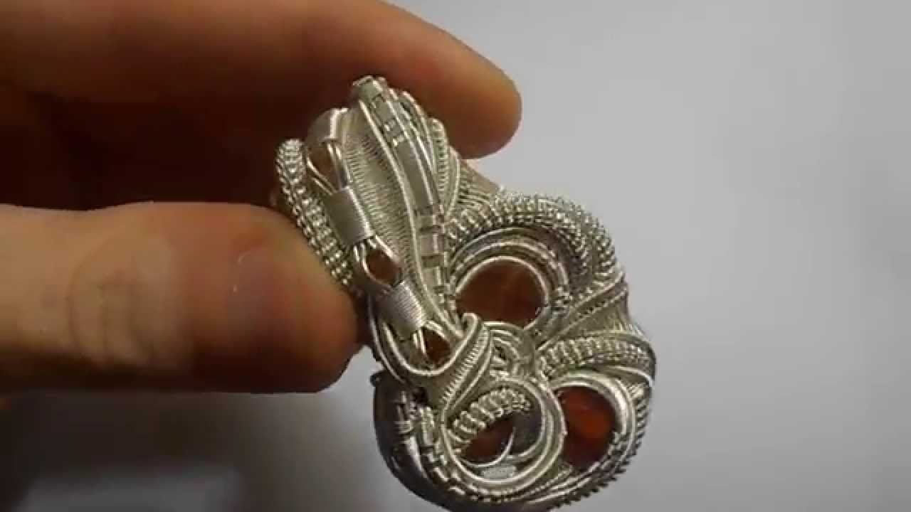 Heady wire wrap pendant for noetic effect by tangledup nblue youtube aloadofball Images