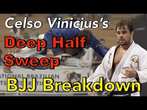 Celso Vinicius's Deep Half Guard & Sweep   BJJ Breakdown   4K