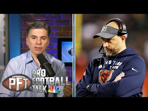 Bears' Matt Nagy Defends Decision To Kneel Before Field Goal | Pro Football Talk | NBC Sports