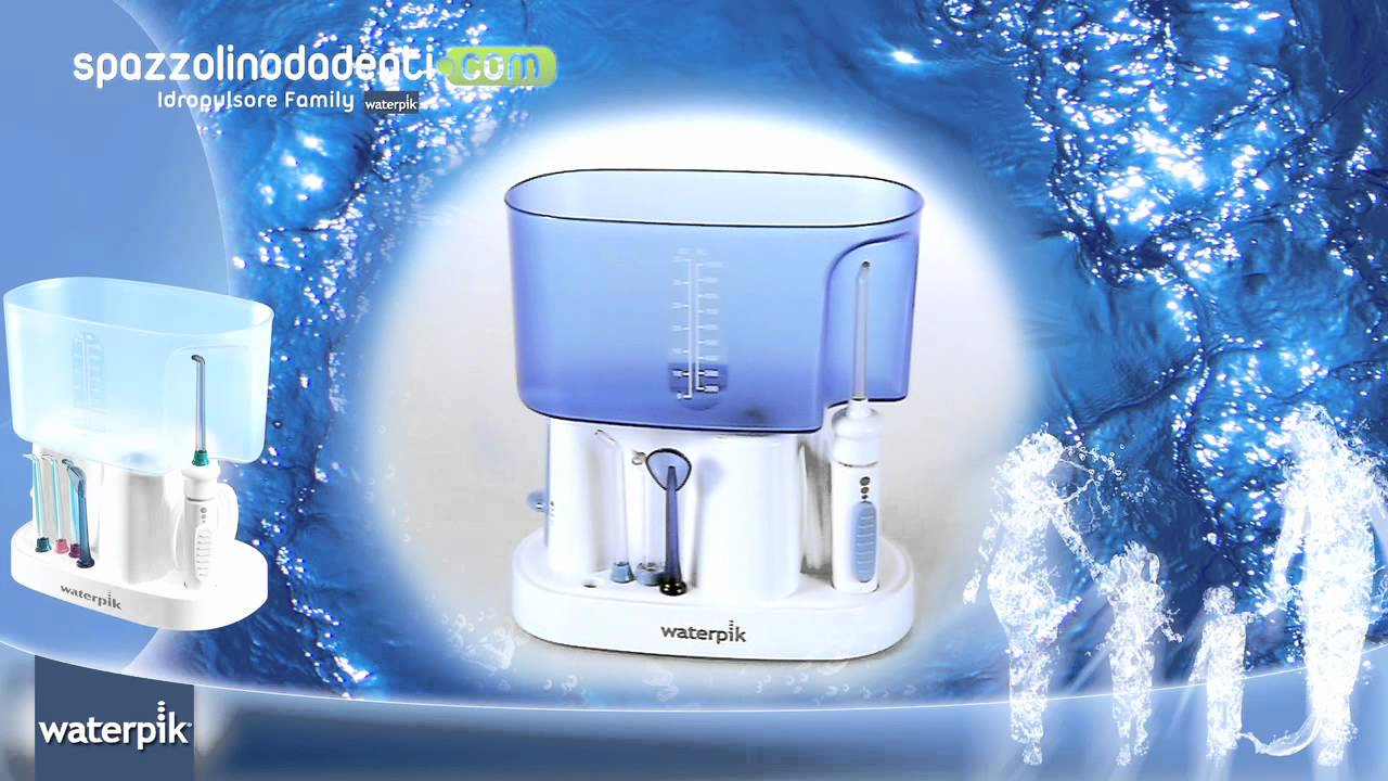 WaterPik idropulsore family wp-70 - YouTube f353a8583125