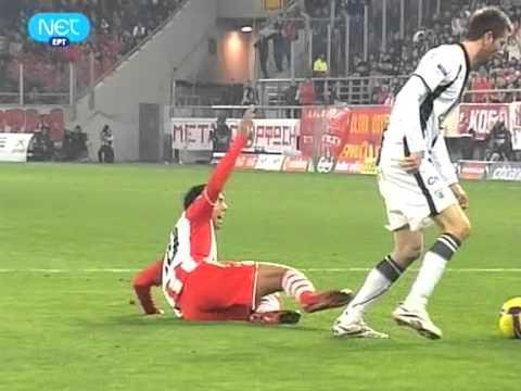 Olympiakos-PAOK 0-1 Edinho (Oles oi faseis)