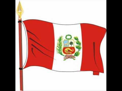 Marcha de Banderas, del Peru. 7 de Juniio Día de la Bandera