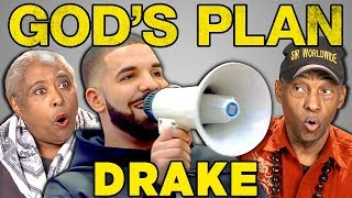elders react to drake gods plan