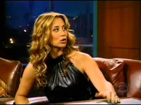 Lara Fabian - Interview @ The Late Late Show with Craig Kilborn