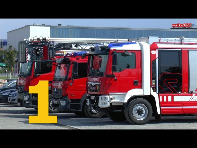 TEIL1 Landesfeuerwehren Baden-Württemberg in Böblingen,Feuerwehrfahrzeuge Fire brigades,fire trucks
