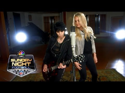 Angie Ward - Carrie Underwood Sunday Night Football Theme With Joan Jett