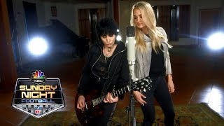 Carrie Underwood, Joan Jett team up for electric Sunday Night Football open | NBC Sports