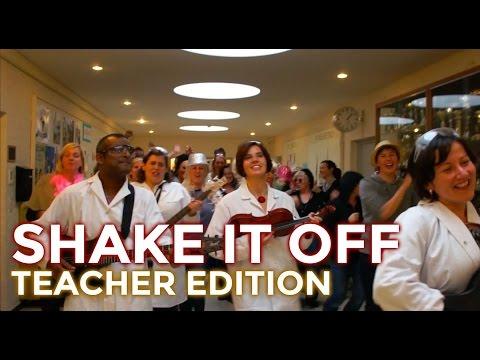 Shake it Off: teacher edition (Lip dub) •SASK-feest 2015