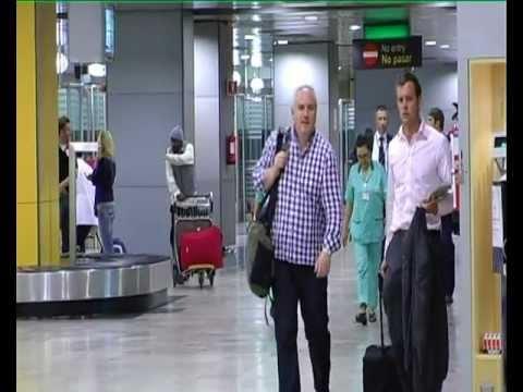 Reportaje 24 horas en Barajas