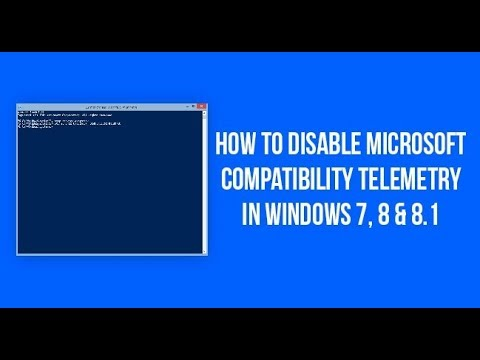 désactiver microsoft compatibility telemetry windows 8