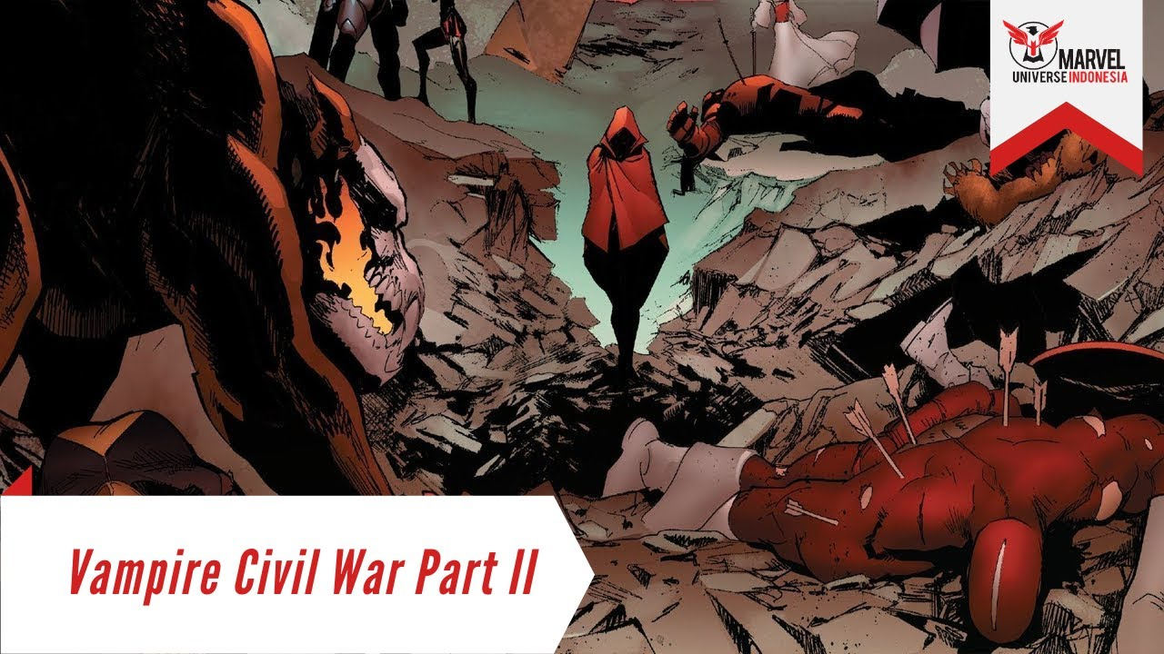 Vampire Civil War Part 2: Dracula and Red Widow