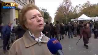 Attentats de paris : Une mamie pleine de bon sens