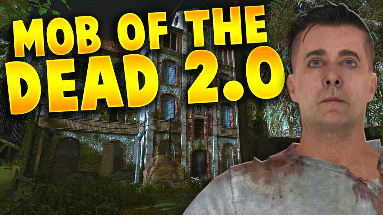 MOB OF THE DEAD 20  The Best Custom Zombies Map Ever Clinic