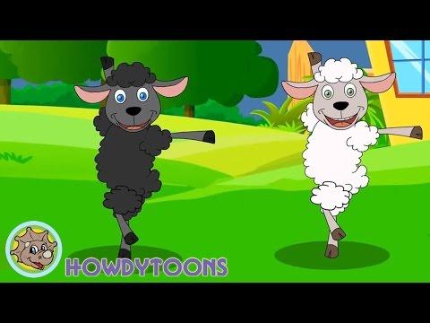 Baa Baa Black Sheep - Twinkle Twinkle Little Star - ABC Alphabet Song - Nursery Rhymes by Howdytoons