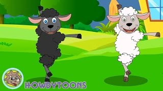 Baa Baa Black Sheep - Twinkle Twinkle Little Star - ABC Alphabet Song - Nursery Rhymes by Howdytoons