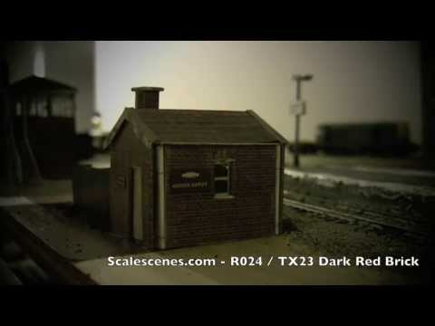 oorail.com | Adding a Coal Office to a Model Railway Layout