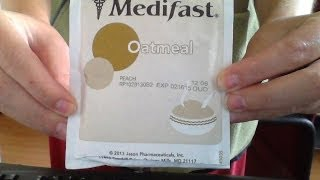 Medifast: Peach Oatmeal Review