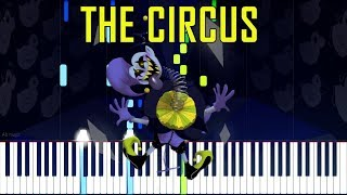 The Circus - Deltarune (Undertale Series) [Synthesia Piano Tutorial]