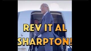 Reverend Al Sharpton's Private Jet!