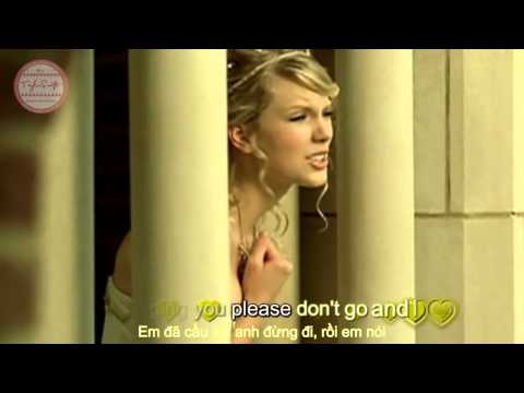 Lyrics Vietsub HD Love StoryTaylor Swift