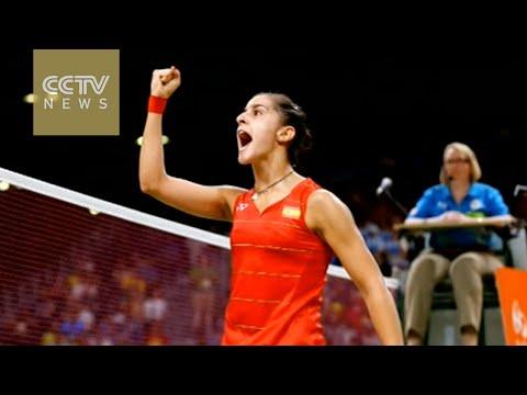 Rio 2016: Spain wins gold in women's badminton singles
