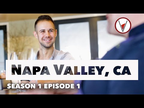 "Napa Valley, California (full episode) - ""V is for Vino"" wine show"