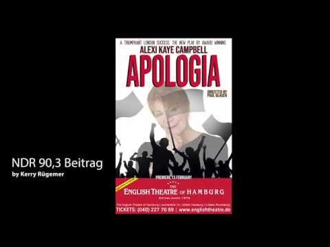 Apologia NDR 90,3 Radiobeitrag Trailer. THE ENGLISH THEATRE OF HAMBURG