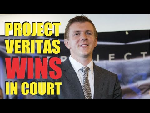 Project Veritas WINNING!  Judge SLAMS New York Times Reporters!