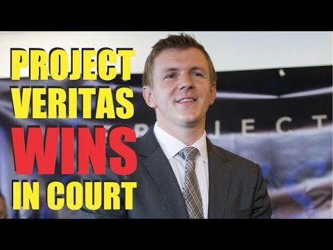 Project Veritas WINNING!  Judge SLAMS New York Times Reporters!