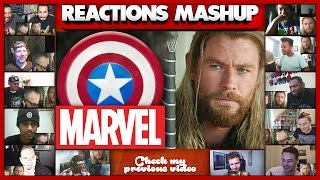 What THOR Was Doing During Captain America: Civil War Reactions Mashup