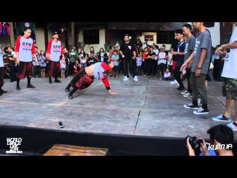 World Dance Day 2014 - Friendly Bboy Battle Malaysia Vs Indonesia
