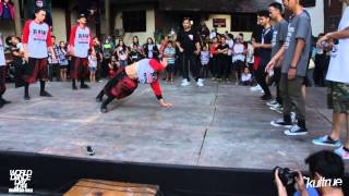 World Dance Day 2014 - Friendly Bboy Battle Malaysia Vs Indonesia
