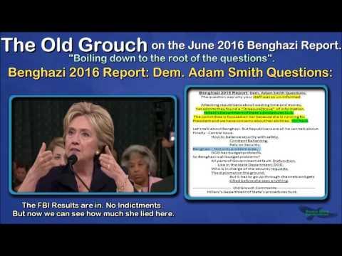Benghazi 2016 Report: Dem. Adam Smith Questions. OGB 9 of 41.