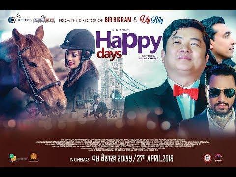 "New Nepali Movie -""Happy Days"" Official Trailer    Dayahang Rai, Priyanka Karki, Sanjay Gupta"