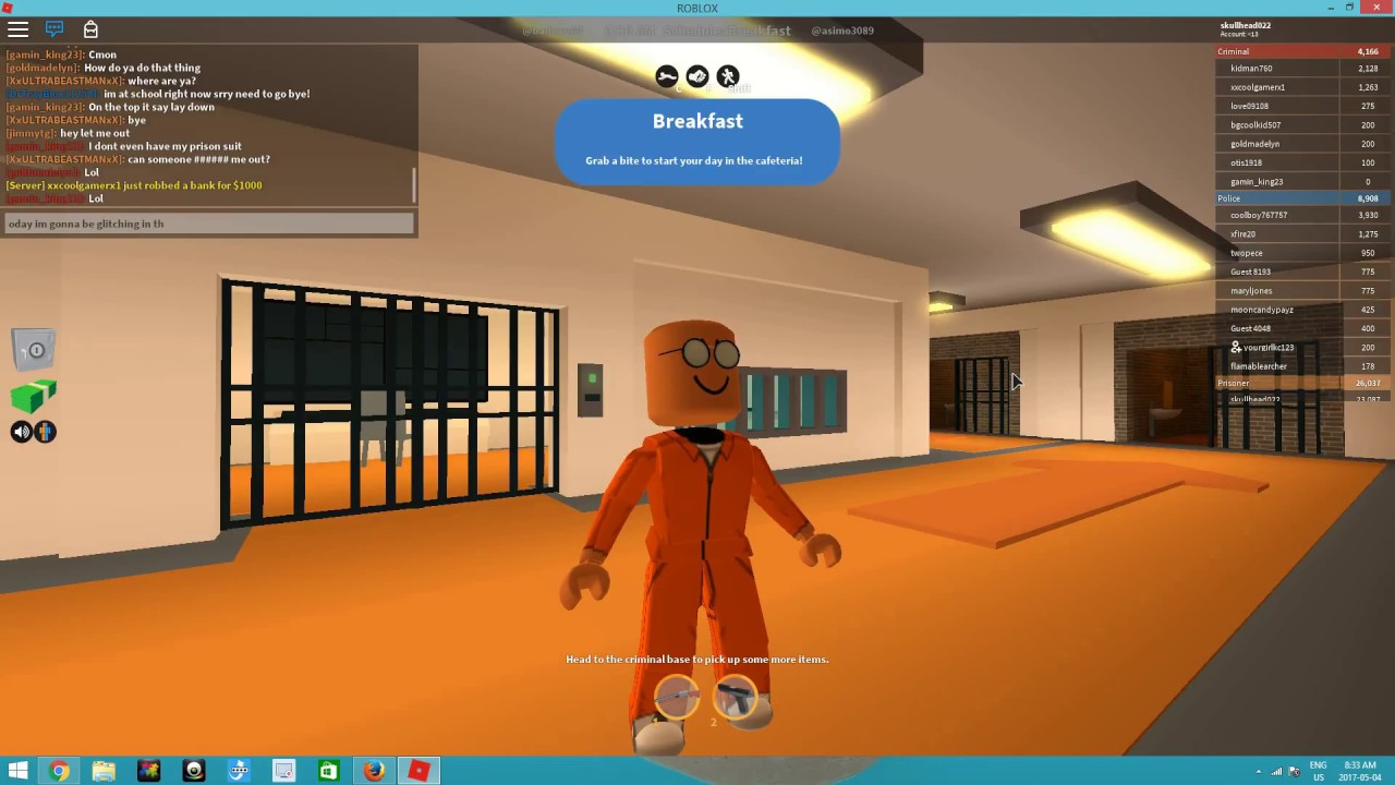 Roblox Room: How To Glitch In Police Room